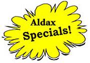 Aldax Specials